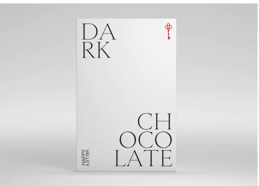 Happy Valley (400mg) Dark Chocolate (Medicinal use)