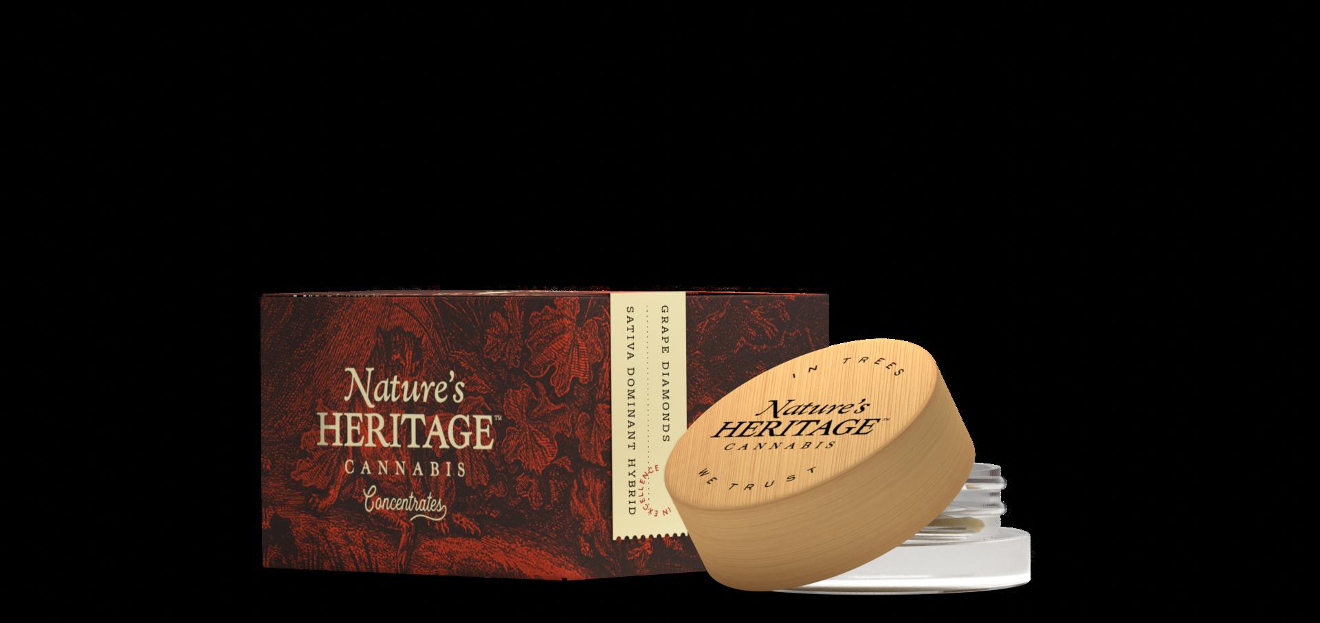 Nature's Heritage Kief (1.0g) Ebony Ivory (Medicinal use)