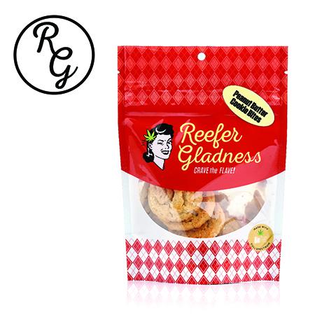 Reefer Gladness Cookie (100mg) Peanut Butter Bites - 10 Pack (Medicinal use)