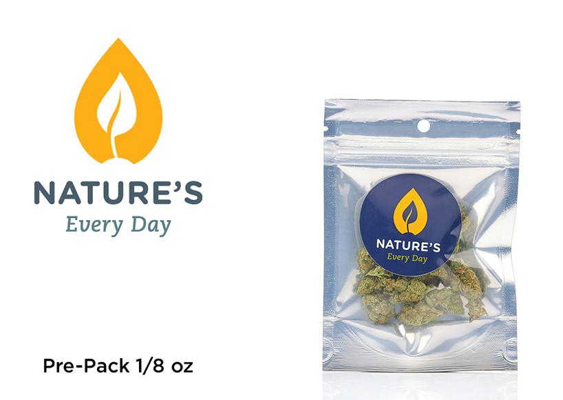 Nature's PrePack (1/8oz) Critical Jack (Recreational use)