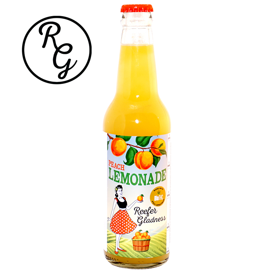 Reefer Gladness Lemonade (50mg) Peach (Medicinal use)