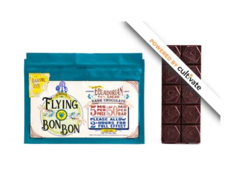Cultivate Dark Chocolate Bar (50mg) Flying Bon Bon (Medicinal use)