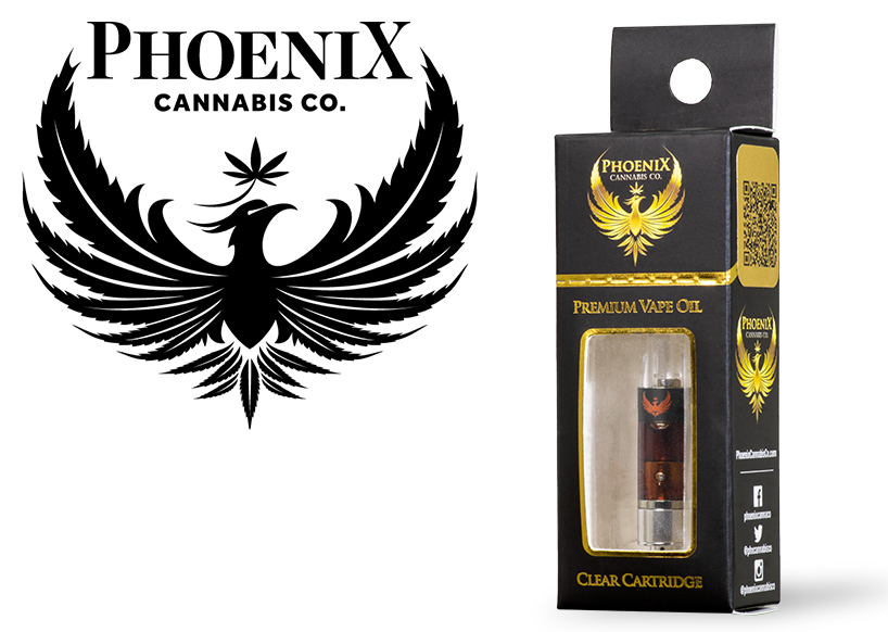 Phoenix Cannabis Co. Full Spectrum PVO (600mg) Orangeade
