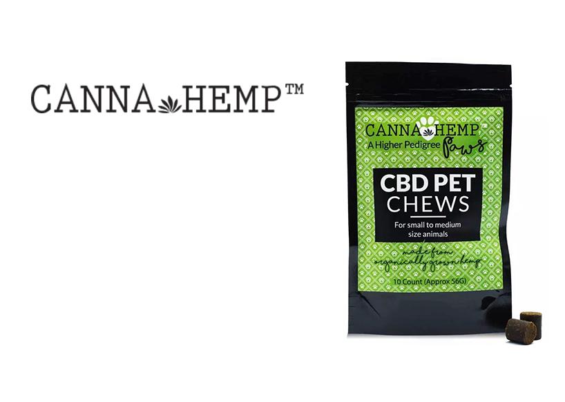 Canna Hemp Pet Chews (10ct.) CBD (Recreational use)