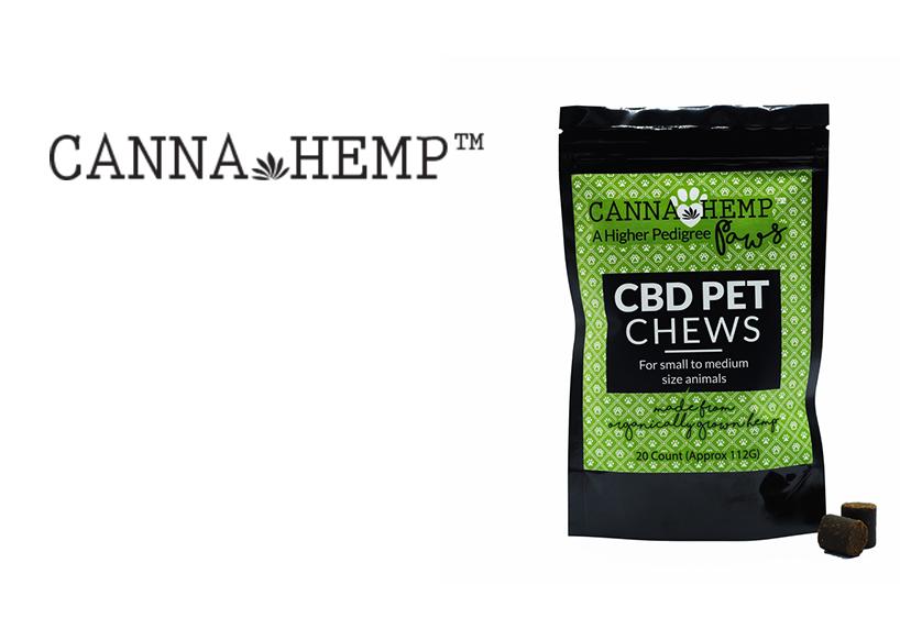 Canna Hemp Pet Chews (20ct.) CBD (Medicinal use)