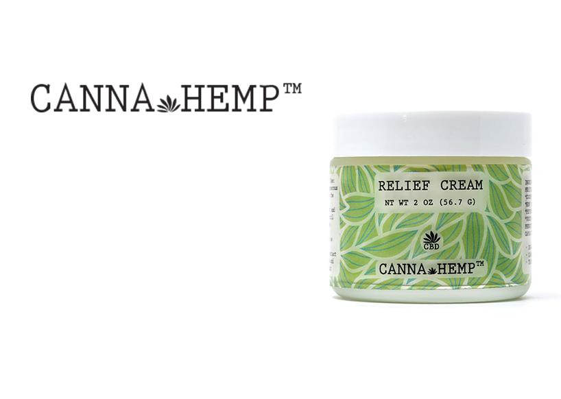 Canna Hemp (2oz Jar) Relief Cream CBD (Medicinal use)