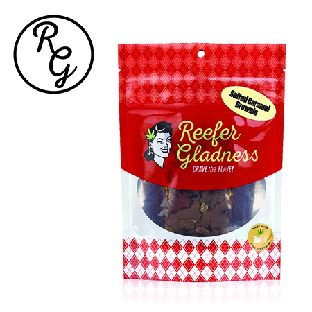 Reefer Gladness Brownie (25mg) Salted Caramel - Mini