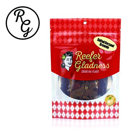 Reefer Gladness Brownie (100mg) Salted Caramel (Medicinal use)