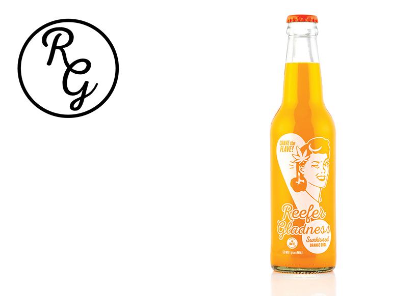 Reefer Gladness Soda (50mg) Sunkissed Orange (Medicinal use)